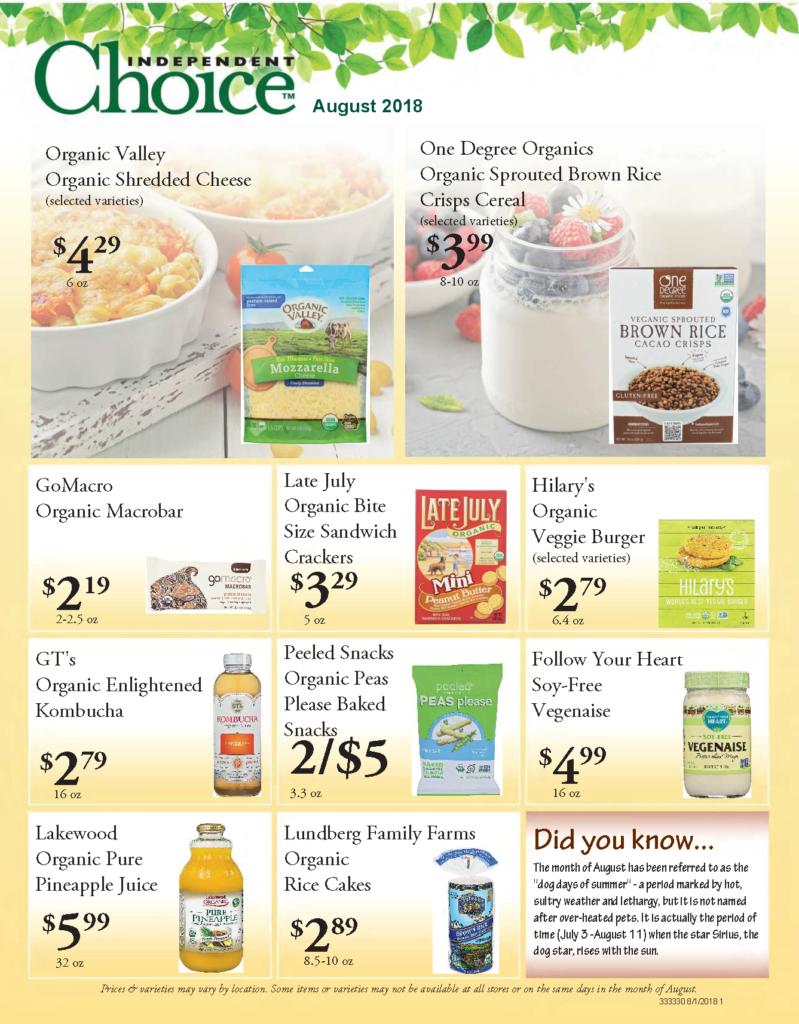 Natural Food Store Boone Nc
